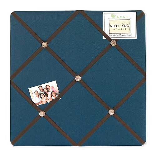 Construction Fabric Memo Board