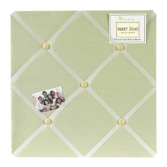 Sage Green Dragonfly Dreams Fabric Memo Board