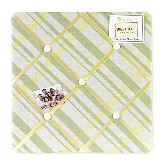Leap Frog Fabric Memo Board