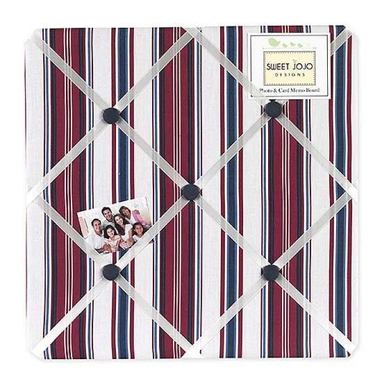 Nautical Nights Fabric Memo Board