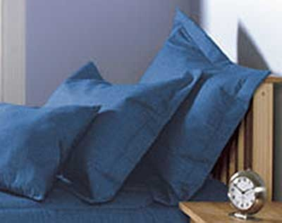 Blue Jean Pillow Sham - Stonewash Denim