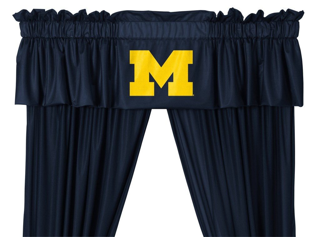 Michigan Wolverines Valance