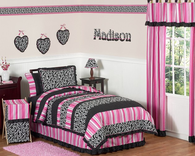 Madison Bedding Set - 4 Piece Twin Size By Sweet Jojo Designs