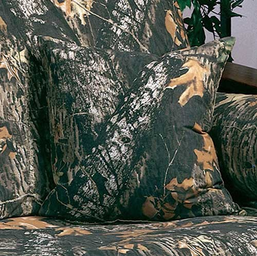 Mossy Oak New Break Up Camouflage 18 X 18 Square Pillow