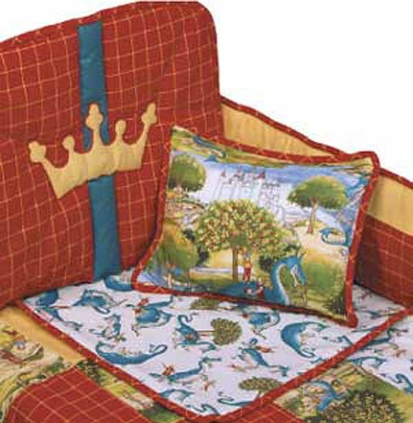 Dragon Crib Bedding Set