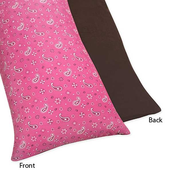 Cowgirl Western Body Pillow Cover