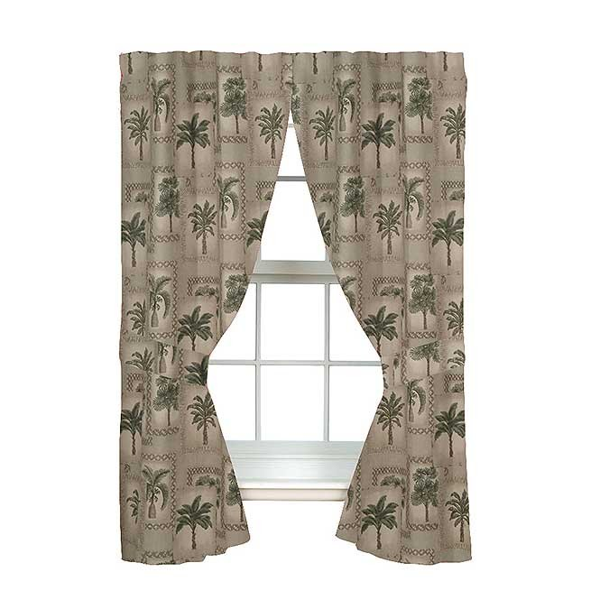 Palm Grove Drapes