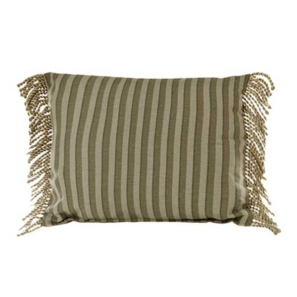 Palm Grove Oblong Accent Pillow - Striped**