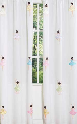 Ballerina Window Panels