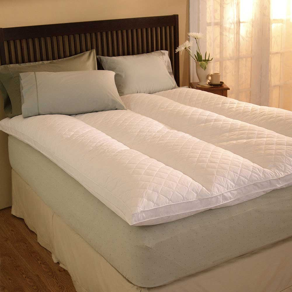 Pacific Coast Euro Rest Feather Bed - 60 X 80 Queen Size