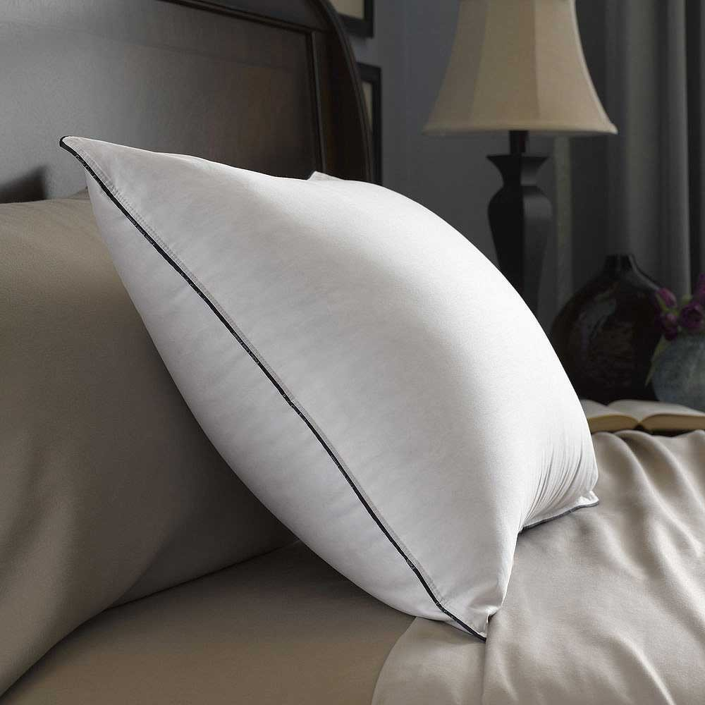 Pacific coast double down around feather pillow 20 x 36 for Best king size down pillows