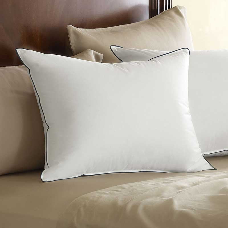 Pacific coast eurofeather pillow king size 20 x 36 for How big are king size pillows
