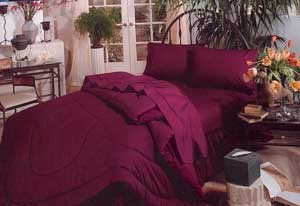 200 Thread Count Solid Color California King Comforter Set - Choose from 15 Colors