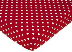 Little Ladybug Crib Sheet