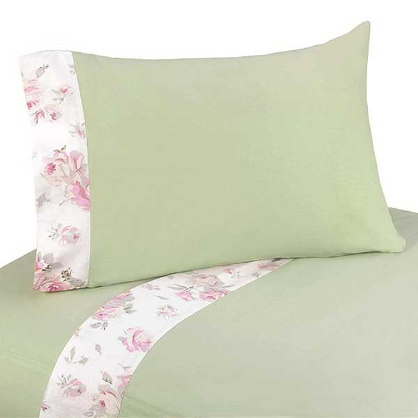 Rileys Roses Twin Size Sheet Set