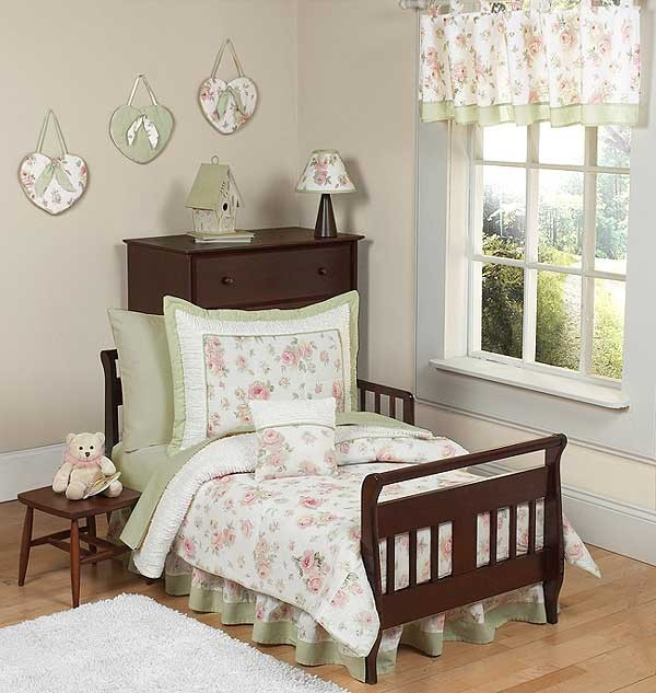 Rileys Roses Toddler Bedding Set By Sweet Jojo Designs