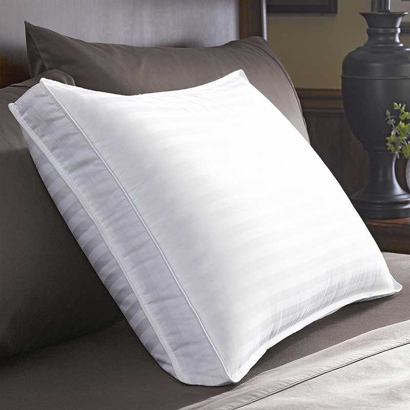 restful nights down surround pillow extra firm density With best firm king size pillows
