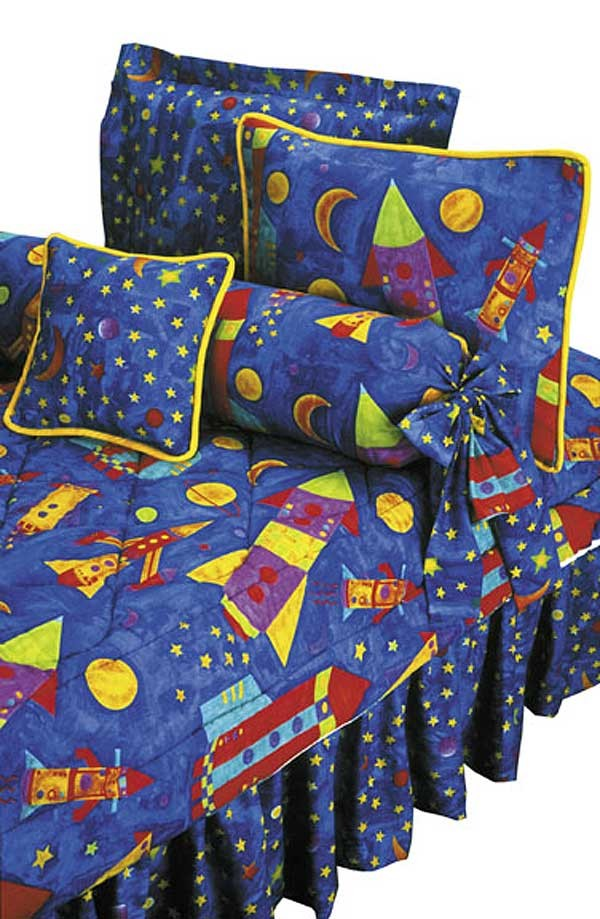 Rockets Bunkie Sheet Set