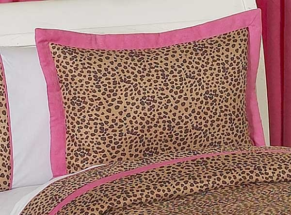 Cheetah Pink Pillow Sham