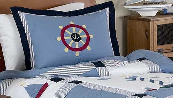 Come Sail Away Pillow Sham
