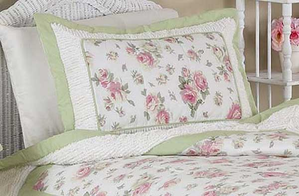 Rileys Roses Pillow Sham