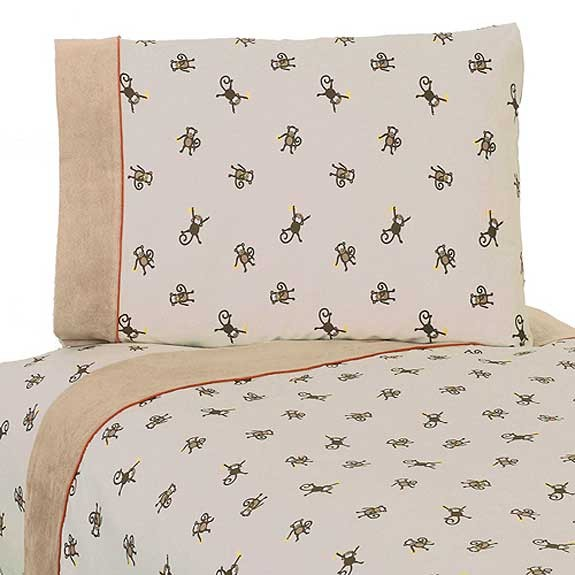 Monkey Comforter Set   3 Piece Full Queen Size By Sweet Jojo Designs. Monkey Comforter Set   3 Piece Full Queen Size By Sweet Jojo