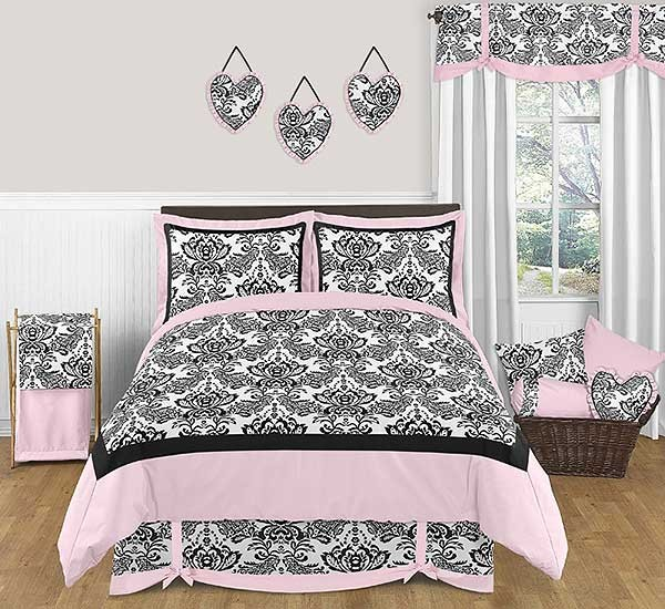 Sophia Bedding Set - 4 Piece Twin Size By Sweet Jojo Designs