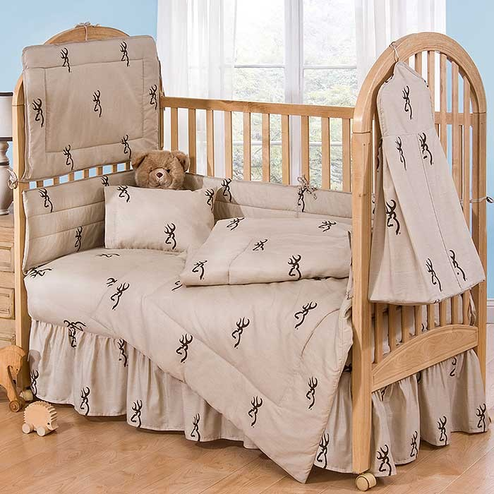 Browning Buckmark 3 Piece Crib Set