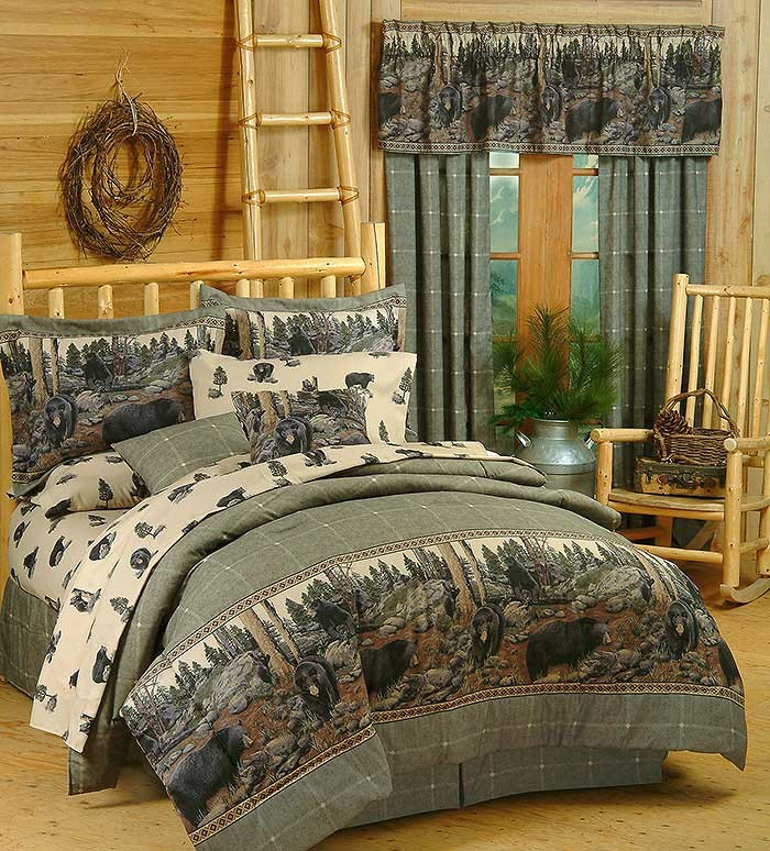 The Bears Comforter Set - Twin Size