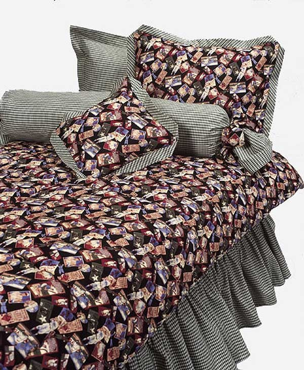 Top League Black Print Bunk Bed Hugger Comforter by California Kids (Clearance)