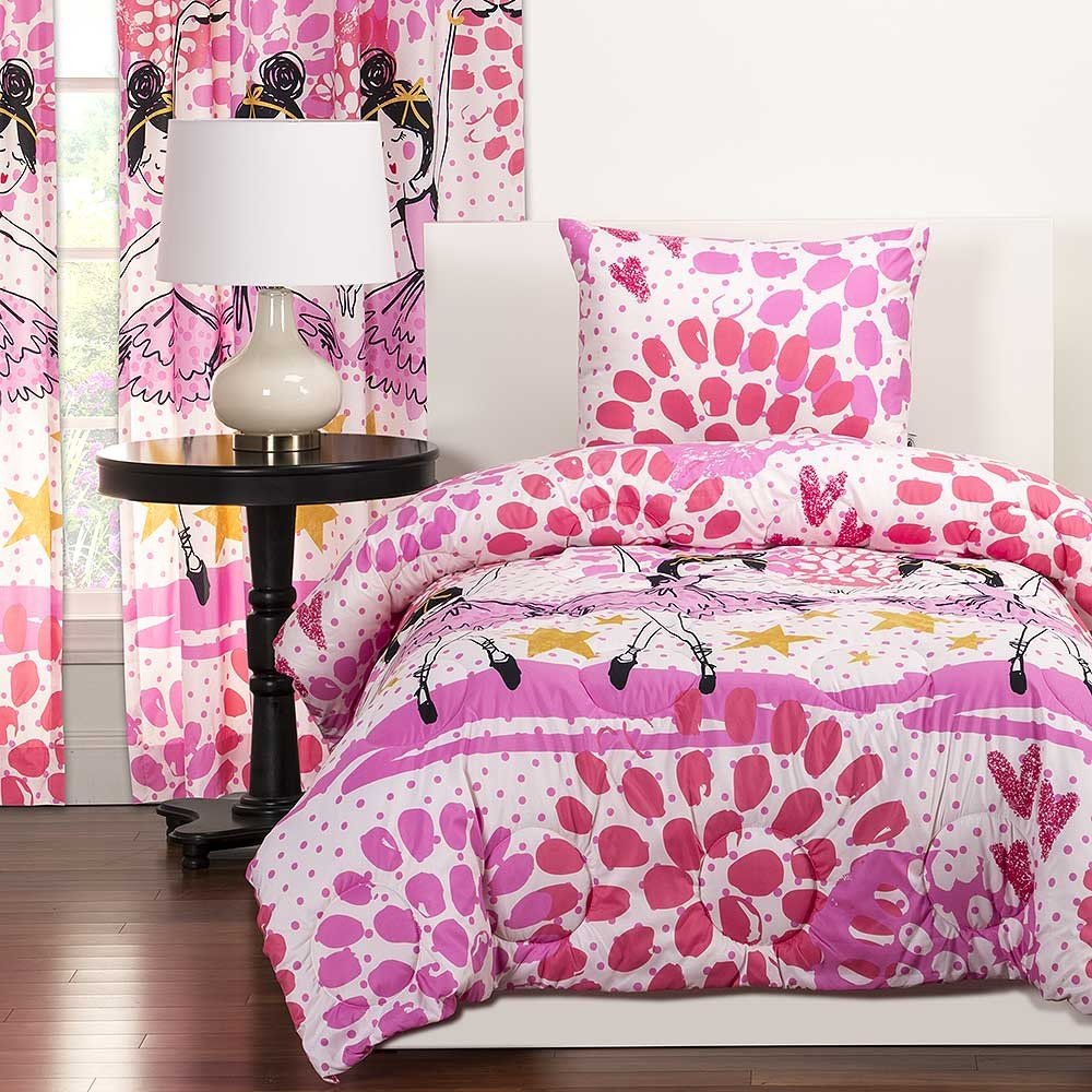 twinkle toes comforter sets from crayola