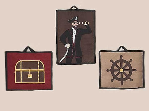 Pirate Treasure Cove Wall Hanging