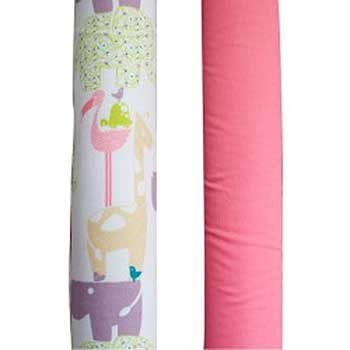 Wonder Bumper Vertical Crib Liners - Wild Thing - 2 Pack