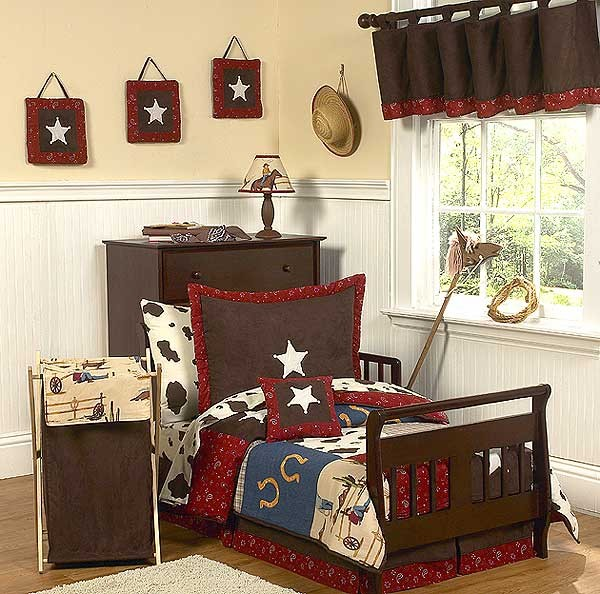 Wild West Cowboy Western Toddler Bedding Set By Sweet Jojo Designs*