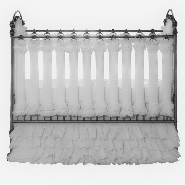 Wishes of Wonder in White Vertical Crib Liners - 24 Pack