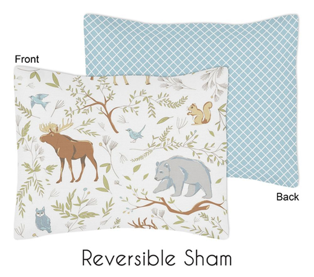 Woodland Toile Pillow Sham - Blanket Warehouse