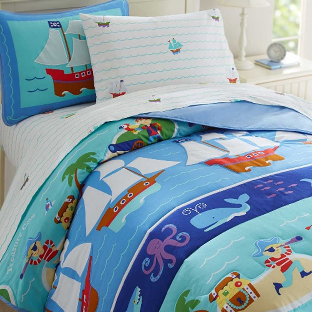 Pirate Toddler Bedding Set