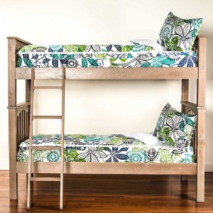 Bali Twin Size 2 Piece Bunkie Set