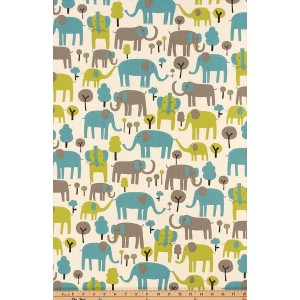 Elephant Trunk Bunkbed Hugger Comforter by California Kids