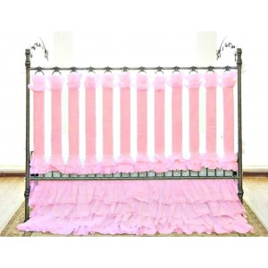 Wishes of Wonder in Pink Vertical Crib Liners - 24 Pack