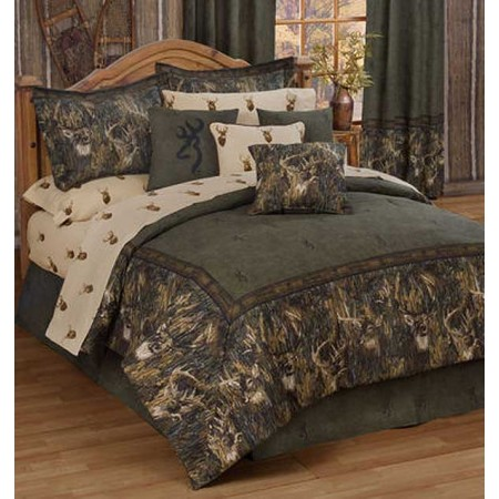 Browning Whitetails Comforter Set - Queen Size