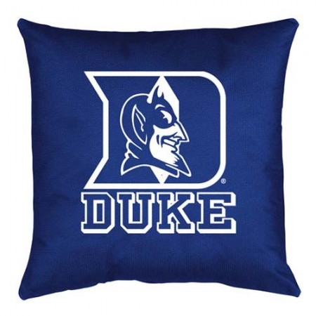 Duke Blue Devils Locker Room Toss Pillow - 18 X 18