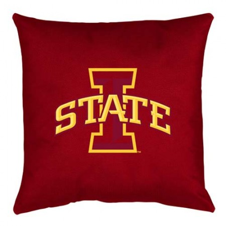 Iowa State Cyclones Locker Room Toss Pillow - 18 X 18