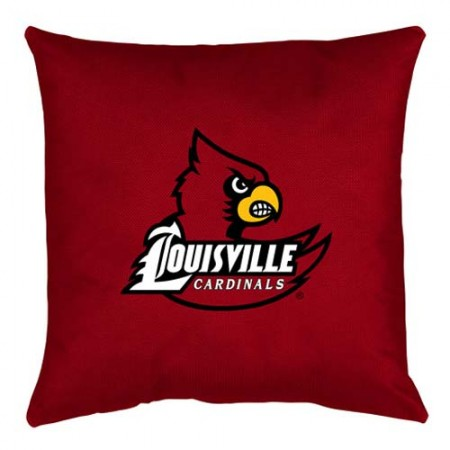 Louisville Cardinals Locker Room Toss Pillow - 18 X 18