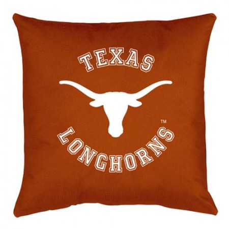 Texas Longhorns Locker Room Toss Pillow - 18 X 18