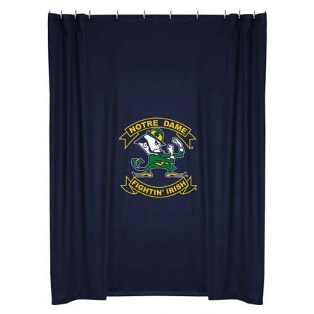 Notre Dame Fighting Irish Shower Curtain