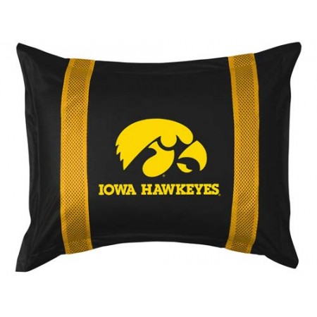 Iowa Hawkeyes Locker Room Pillow Sham