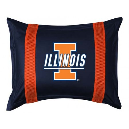 Illinois Fighting Illini Locker Room Pillow Sham