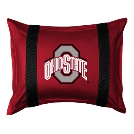 Ohio State Buckeyes Locker Room Pillow Sham