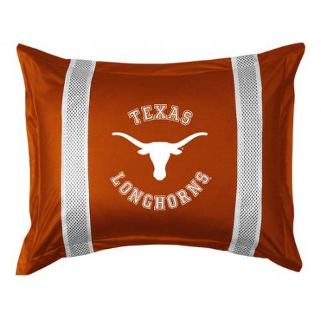Texas Longhorns Locker Room Pillow Sham